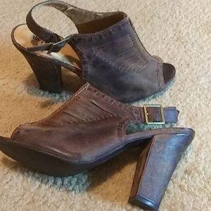 Mission Leather Heels!
